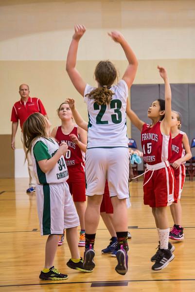 St Francis Girls 3-6 Winter Basketball 2014