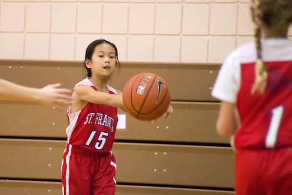St. Francis School 3-6 Girls Basketball 2013